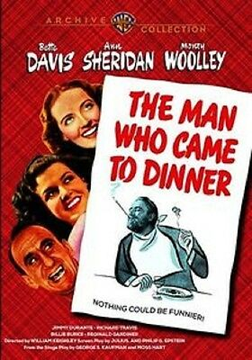 THE MAN WHO CAME TO DINNER (1942 Bette Davis) - Region Free DVD - Sealed