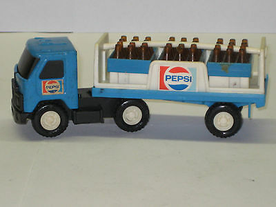 Buddy L Blue Pepsi Delivery Tractor Trailer Hong Kong