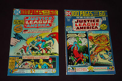 Justice League of America #114 & #115 100 PAGE GIANTS (1975, DC) BEAUTY PAIR!