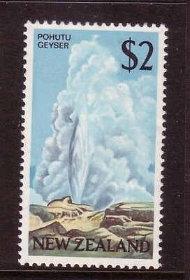 NEW ZEALAND....  1968 pictorials  $2  pohutu geyser  mnh multicolour
