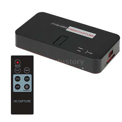 HDMI HD HDD USB TV DVD Blu-ray Recorder Game Video Capture Box For PS4 PS3 Y9I1