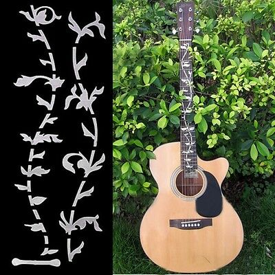 Guitar Fretboard Inlay Stickers Tree Of Life Fret Neck Decals Markers 2pcs/sheet