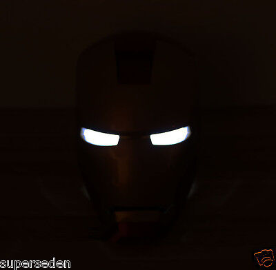 High-Quality 1:1 Iron Man Costume Mask Helmet For Cosplay Props Decoration Au