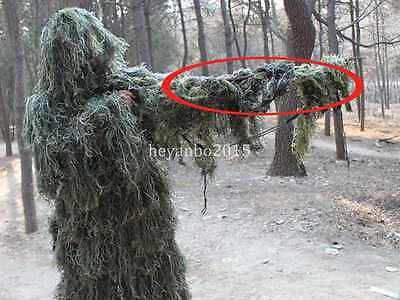 Camo Rifle Gun Wrap Cover For Camo Yowie Ghillie Sniper Paintball Hunting
