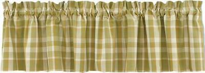 French Country New Curtain Ruffled THATCHER Kitchen Window VALANCE New 180X35cm