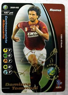 Cards Game Football Champions Carte Roma Damiano Tommasi 2001/02 New!!