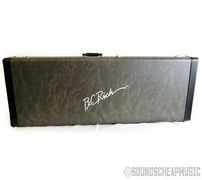 BC Rich BCFGC11 Fitted Widow Hardshell Guitar Case - New! Free Shipping!
