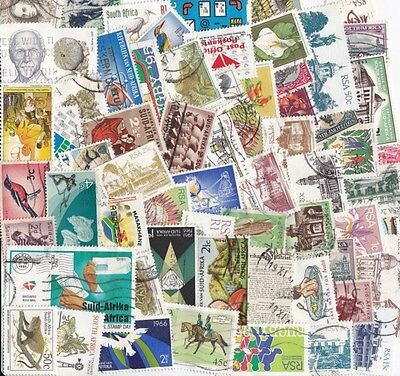 140 different SOUTH AFRICA Stamps collection Nice!