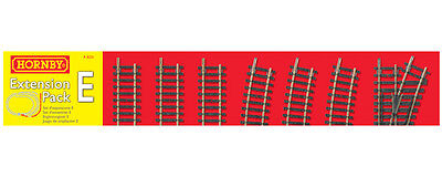Hornby R8225 Track Pack E Extension for Train Sets