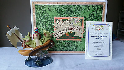Real Musgrave Pocket Dragon Wynken, Blynken And Nod - Mint Boxed Limited Edition
