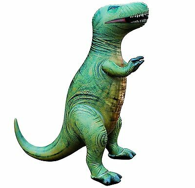 Jet Creations Inflatable Tyrannos Dinosaur Medium Green One-Size