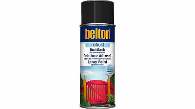Belton - Design Robust Kunstharz-Lackspray Schwarz RAL 9005 (400 ml)
