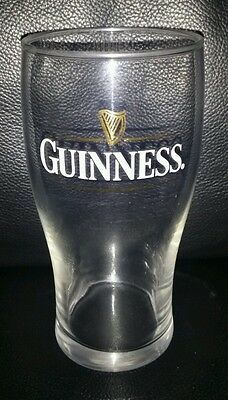 Rare Collectable Guinness 500Ml (Approx) Beer Glass Brand New Never Used