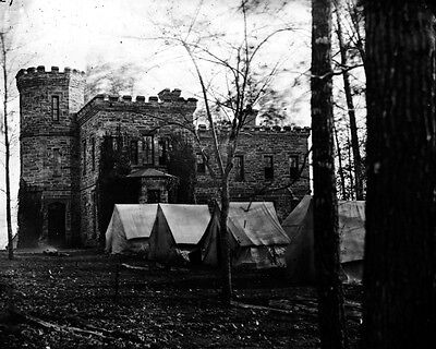 New 11x14 Civil War Photo: Castle Murray at Auburn, HQ of Gen. Alfred Pleasonton