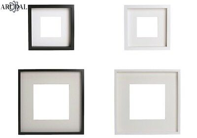 IKEA RIBBA Photo Picture Wall Frames, In Black/White, Sizes: 23 X 23, & 50 X 50