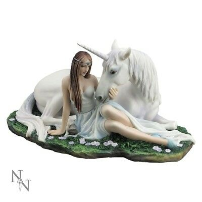 "*NEW* Anne Stokes ""Pure Heart"" Figurine Statue Unicorn Fantasy"