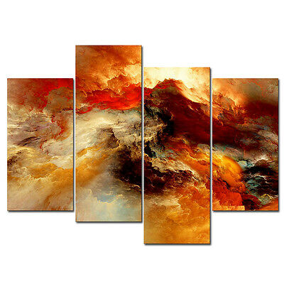 Framed Picture Painting Abstract Canvas Print Poster Photo Wall Art Home Decor
