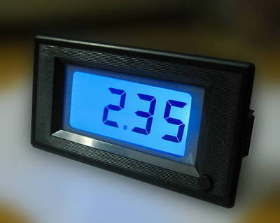 DC +/-1.999A 0-2A Bidirectional Current Ammeter Ampere Digital Meter Blue LCD ZS