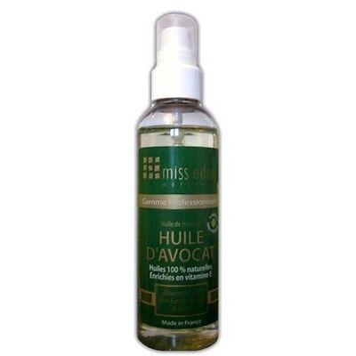 Huile d'avocat 100 ml format Spray - Miss Eden