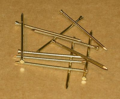 Panel Pins - Solid Brass - 40 x 1.6mm - Use select box to choose quantity