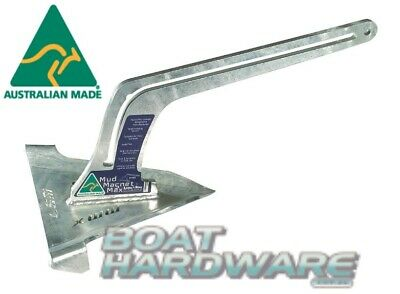 Mud Anchor 6kg Lone Star MMX-2 Suit Boats up to 6.5m w/Retrieval Slide Aust Made