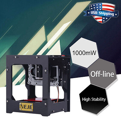 NEJE 1000mW USB Laser Engraver Printer Cutter Engraving Cutting Machine DIY USA