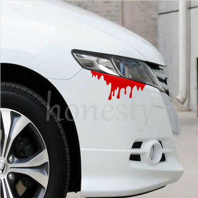 Blood Flowing Vinyl Funny Car Decal Window Truck Auto Bumper Laptop Wall Sticker