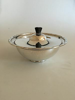 Georg Jensen Sterling Silver Bowl with Lid #88B