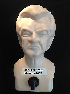 VINTAGE 1984 Crying Bob Hawke JUICE HEAD DRINKS DISPENSER Retro POLITICAL