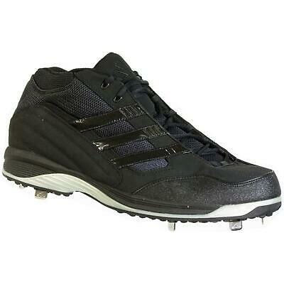 buy online f9c67 132ba Adidas Excel Ic 3 4 Baseball Cleats Black Size 15