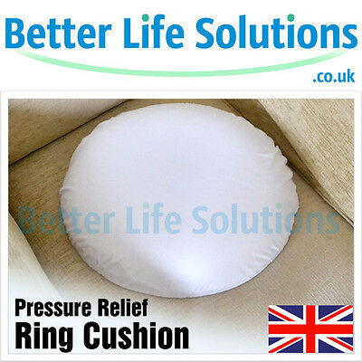Pressure Relief Ring Cushion Washable Cover Memory Foam Donut Hemorrhoids Piles