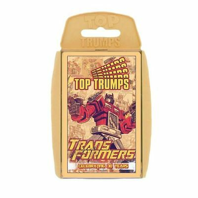 Transformers - Celebrating 30 years Top Trumps Card Game