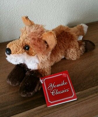 "Russ Yomiko Classics Fox Stuffed Animal Plush Woodland Forest 10"" Long New"