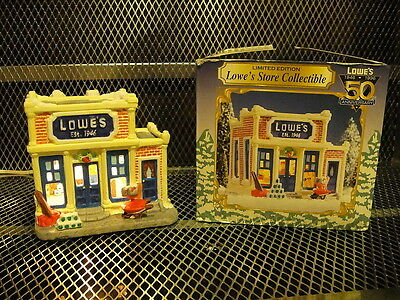 LOWE'S 1996 Store Building Collectible Christmas Village 50th Anniv LTD ED