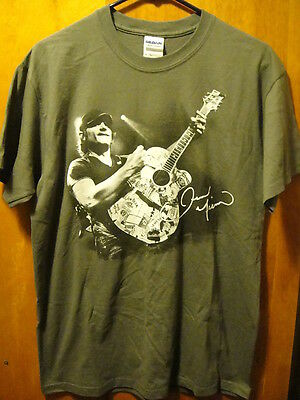 JERROD NIEMANN Double Sided Country Music Tour T Shirt MED Gray EUC Garth Brooks