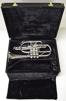 Yamaha Ycr-8335-S Silver Xeno Pro Cornet With Shepards Crook