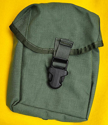 US Army OD Olive Drab IFAK Pouch only Brand new Sewn in divider