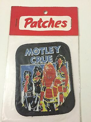Motley Crue Toppa Patch Sealed
