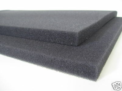 "DLK 1 1/2 Acoustic Foam Speaker Grilles .75"" Thick - 2 pieces"