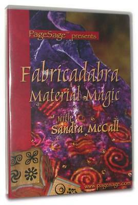 PageSage Rubber Stamps Stamping DVD Fabricadabra Material Magic - 125 Minutes