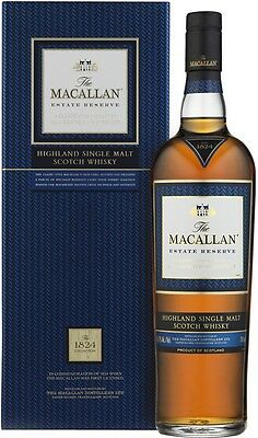 The Macallan Estate Reserve 1824 Collection Single Malt Scotch Whisky 700ml