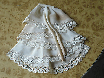 Vintage Lace Flower Ruffle Collar ~ Pin On Edwardian Choir Decoration
