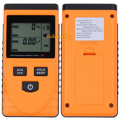 Electromagnetic Radiation Detector Digital LCD Meter Dosimeter Tester GM3120