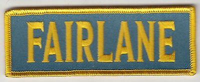 Ford Fairlane Embroidered Patch