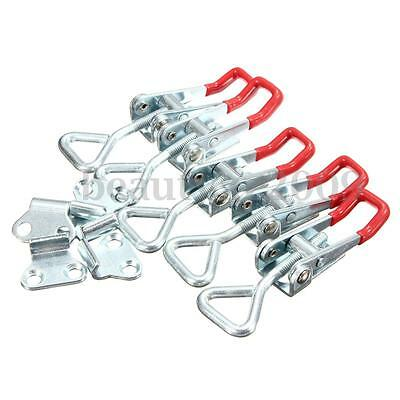 5Pcs 100KG/220lbs Adjustable Quick Holding Capacity Latch Hand Tool Toggle Clamp
