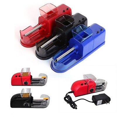 Electric 220V Cigarette Rolling Machine Tobacco Roller Automatic Injector Maker