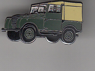 LAND ROVER SERIES 1 cap or jacket  pin - badge