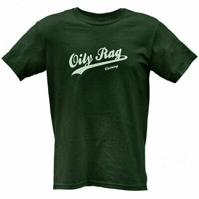 Oily Rag Clothing Classic Motorcycle Casual T-Shirt - Charcoal