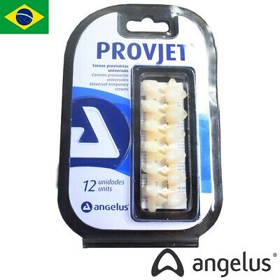 Provjet Dental Universal Temporary Crowns 12Units 6 central & 6 lateral incisors