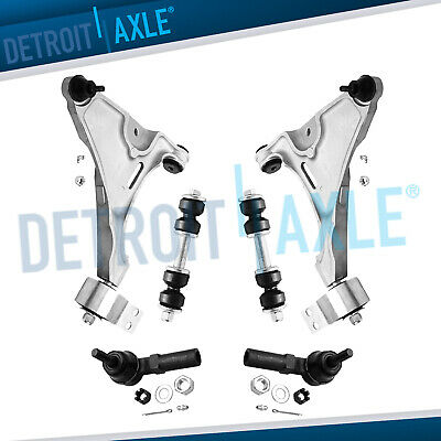 Brand New 6pc Complete Front Suspension Kit for Buick Lucerne and Cadillac DTS